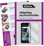 dipos I 2X Schutzfolie klar passend für Archos Sense 47X Folie Displayschutzfolie