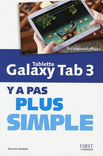 Tablette Galaxy Tab 3 par Servane Heudiard