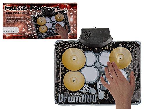 Musikteppich, Mini-Batterie, ca. 34 x 25 cm für 3 Micro Batterien (AAA) -