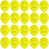 bestehemden 50 Premium Luftballons gelb Markenqualität Helium Ballongas geeignet Naturlatex 100% giftfrei Geburtstagsparty Hochzeit Partyballon