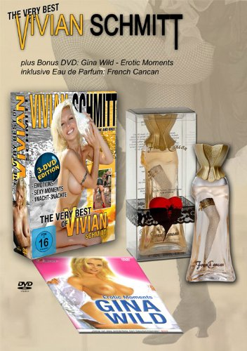 "The very Best of Vivien Schmitt - Special-Edition mit Parfum ""French Cancan"" (plus Bonus-DVD Gina Wild)"