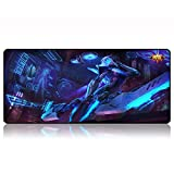 Mauspad Super Anime Sword Art Online Tokyo Ghouls can Kind of Cute Naruto One Piece Girl Girl 800 x 300 x 3 mm, 7, 800X300X3mm