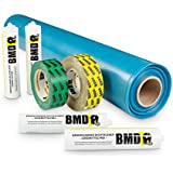 BMD 100m² Dampfbremssystempaket, Dampfsperrfolie, Dampfbremsfolie, Dampfbremse, Dampfsperre, Klebeband, Folienkleber EnEV CE Siegel