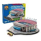 Nanostad 15482 - Camp Nou Puzzle Unisex, Einheitsgröße, rot/blau
