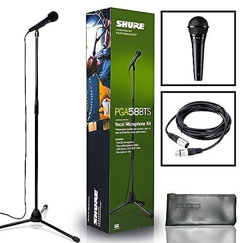 Shure PGA58-BTS Handheld Vocal Microphone