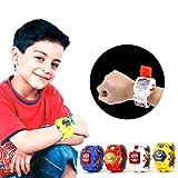 Altsommer Kreativer Roboter,Manuell verformtes Roboter Kinder Spielzeug,Deformationsroboter der Uhr,Konvertieren Einer Uhr in einen Robote mit Pädagogisches für Kinder,Geschenken (Blau)