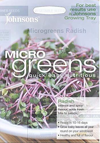 semi pacchetto: johnsons - insalata - microgreen (leaf) -semi