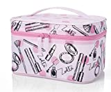 Zoella Beauty Pink Frosted Vanity Case / Cosmetics / Make Up Case
