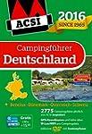 ACSI Campingführer Deutschland 2016 m...