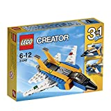 LEGO - 31042 - Creator - Jeu de Construction - L' Avion à Réaction