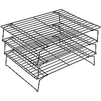 Bestonzon 3-stöckiges Backblech mit Antihaft-Kühlung für Backen, Rauchen, Grillen, Grillen