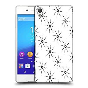 Snoogg White Pattern Designer Protective Phone Back Case Cover For Asus Zenfone 6