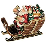 craycombe Trinkets 6037Père Noël avec traîneau et grelots