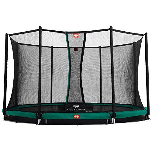 Berg 35.14.09.00 Trampolin Inground Favorit mit Sicherheitsnetz Comfort ø 430 cm