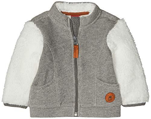 s.Oliver Junior Baby-Jungen Sweatjacke 65.810.43.3466 Grau (Grey Melange 97w4) 62