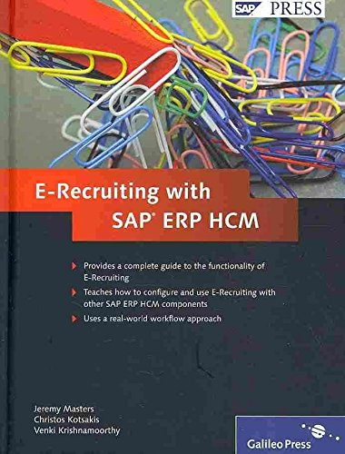 [(E-recruiting with SAP ERP HCM)] [By (author) Jeremy Masters ] published on (April, 2010)