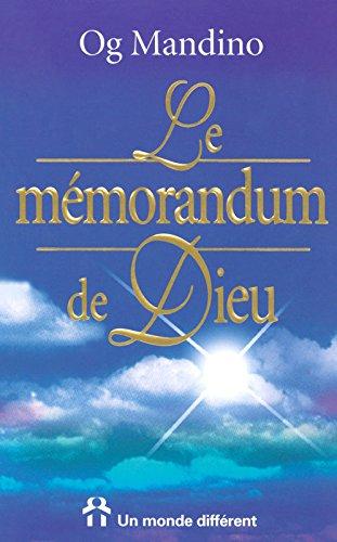 Le Mémorandum de Dieu par Og Mandino