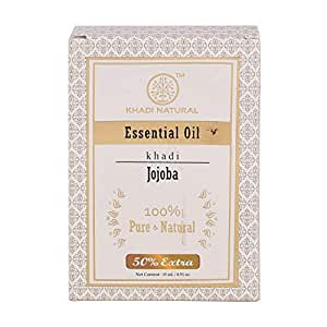 Khadi Natural Jojoba Essential Oil, 15ml