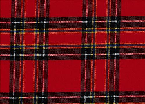 Inverness Moderner Tartan-Stoff, 100% reine Wolle, hergestellt in Schottland, 284 g -