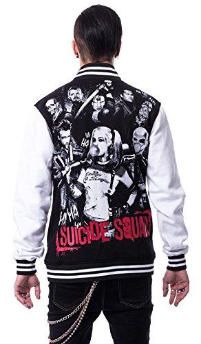Suicide Squad - Blouson - Teddy - Manches Longues - Homme Schwarz