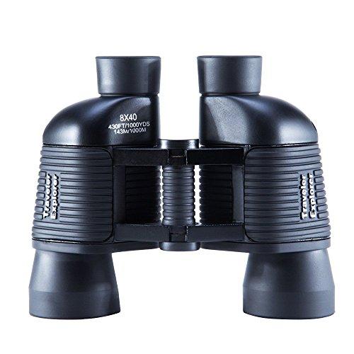 USCAMEL ® Travel Explorer-Binocolo 8 x 40, impermeabile per telescopio