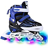 Men/Women Inline Skates Size 4 5 6 7 for Boys Girls Roller Skates