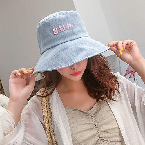 sdssup Cappello da Pescatore Feina Mare Visiera Viso Cappello Grande Crema Solare