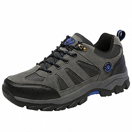 Ben Sports Scarpe da escursionismo Calzature da escursionismo Stivali da escursionismo da donna Uomo Grigio