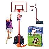 verstellbar IUNNDS Basketballkorb und St/änder mit 111,8 cm R/ückwand f/ür den Au/ßenbereich oder Hinterhof