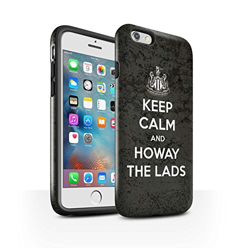 Officiel Newcastle United FC Coque / Brillant Robuste Antichoc Etui pour Apple iPhone 6S+/Plus / Pack 7pcs Design / NUFC Keep Calm Collection Howay Gars