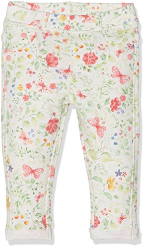 Mothercare Baby-Mädchen Mg Lab Floral Loopback Jean, Weiß, 92