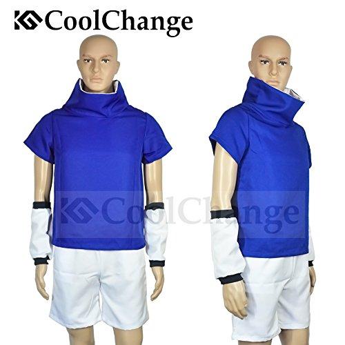 Uchiha Kostüm Cosplay Shippuden Sasuke - CoolChange Cosplay Kostüm von Sasuke Uchiha (Blau, XXL)