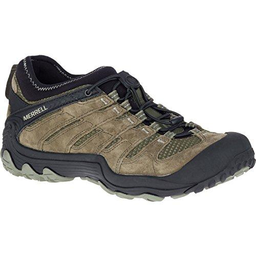 51DIQhV5WgL. SS500  - Merrell Men's Cham 7 Limit Stretch Low Rise Hiking Boots