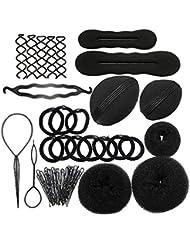 SwirlColor Set Fashion Hair Styling Kit Disk-Haar-Werkzeuge für Mädchen-Frauen