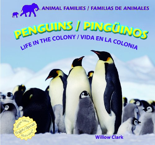 Penguins / Pinguinos: Life in the Colony / Vida En La Colonia (Animal Families / Familias De Animales) por Willow Clark