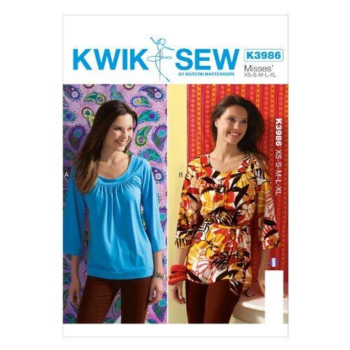 KWIK-SEW PATTERNS K3986OSZ Misses