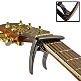 R. x1 - Capodastre pour Guitare Acoustique et Electique - Qualité professionnelle - Bronze