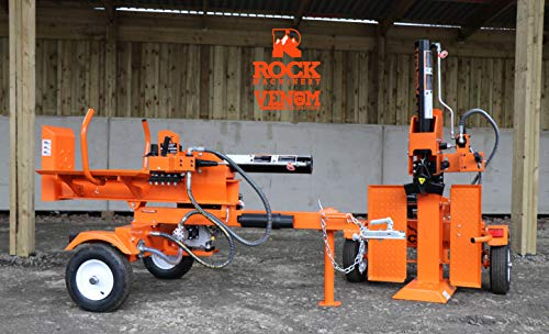 Rock Machinery 22ton Venom Petrol Hydraulic Log Splitter