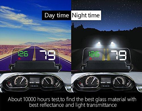 HUD Display GPS/OBD2 Head High Visualization HUD Digital