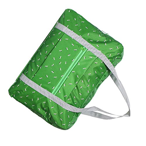 Sharplace Faltbare Reisetasche Sporttasche wasserdichte Tasche für Damen und Herren 45x13x30cm - Grün