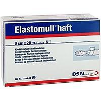 Elastomull Haft 8 cmx20 m 47249 Fixierbinde, 6 St preisvergleich bei billige-tabletten.eu
