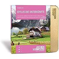 Jochen Schweizer Erlebnis-Box Hotelgutschein 'Idyllische Unterkünfte' inklusive Gutschein für 1 Übernachtung mit Frühstück für 2