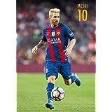 Grupo Erik Editores FC Barcelona Messi Acción - Postal 2016/2017