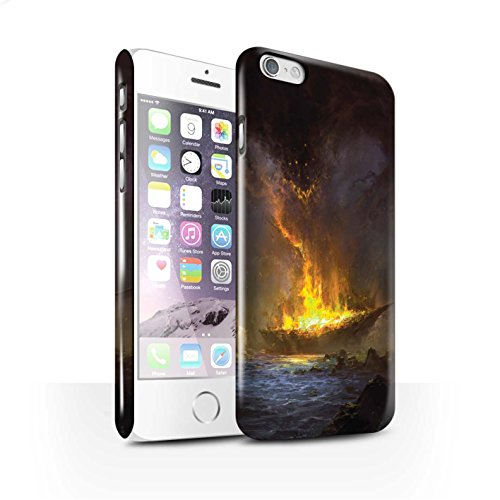 Offiziell Chris Cold Hülle / Glanz Snap-On Case für Apple iPhone 6 / Apokalypse Muster / Gefallene Erde Kollektion Schiffswrack
