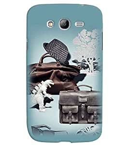 PrintVisa Cool Boy 3D Hard Polycarbonate Designer Back Case Cover for Samsung Galaxy Grand Neo Plus
