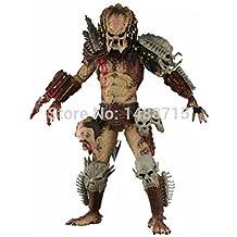 Mall Market NECA Bad Blood Predator 18CM Action Figure Toys Classic Sci-Fi Film Alien Hunter Predators Series Original Box