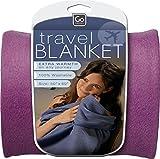 Go Travel - Travel Blanket - Blue / Purple / Red