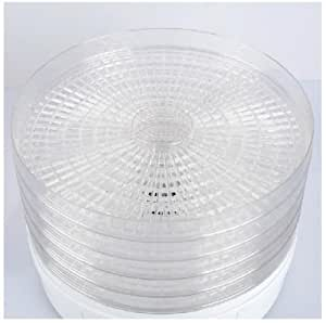 Pack of 2 Additional Dehydrator trays for use with Callow Retail Digital Food Dehydrator