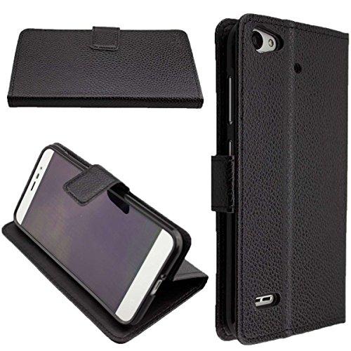 caseroxx Hülle/Tasche Bookstyle-Case Medion Life E5006 MD 60227 Handy-Tasche, Wallet-Case Klapptasche in schwarz