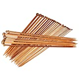 Best Knitting - Outgeek 36PCS Knitting Needle Single Pointed Bamboo Sweater Review